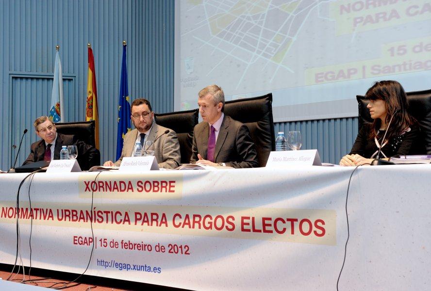 Inauguración da Xornada sobre normativa urbanística para cargos electos